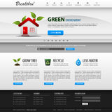 Web Design Website Element Template Stock Image