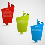Web Design withe place for your text Stock Image