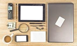 Web Designer Tools. For creating web sites organized neatly royalty free stock image