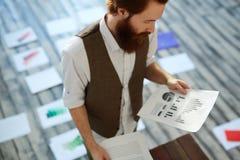Web Designer Working in Studio Stock Photos