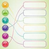 Web desigs elements. Stock Photo
