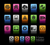Web Developer Icons  Stock Photo