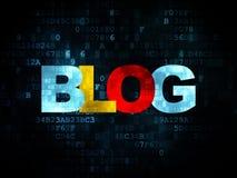 Web development concept: Blog on Digital Stock Photography