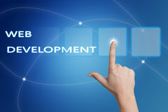 Web Development Stock Photography