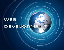 Web Development Royalty Free Stock Photography