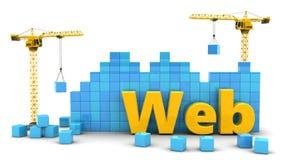 web development Stock Image