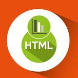 Web development graphics bar economy html Royalty Free Stock Photo