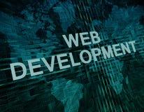 Web Development Royalty Free Stock Photos