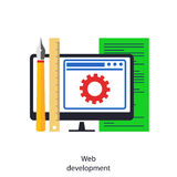 Web development Stock Photos