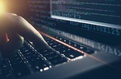 Web Development Work Concept Royalty Free Stock Photography