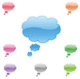 Web dialog. Vector. Royalty Free Stock Photos