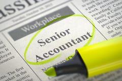 Web die Hogere Accountant inhuren 3d Stock Foto