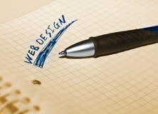 Web-Diseñe Foto de archivo libre de regalías