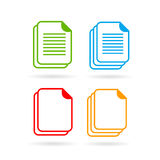 Web document vector icon Stock Image