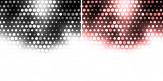 Web dotted background Stock Images