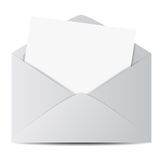 Web E-mail Envelope Icon Royalty Free Stock Image