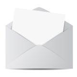 Web E-mail Envelope Icon Royalty Free Stock Image