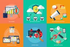 Web e sviluppo Fotografie Stock