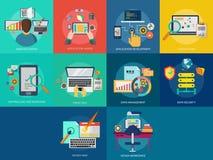 Web e sviluppo illustrazione vettoriale