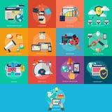 Web e sviluppo Fotografia Stock