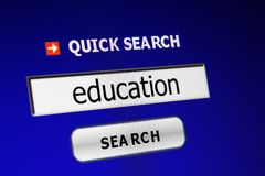 Web education Royalty Free Stock Images
