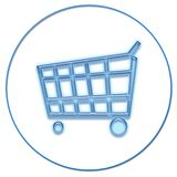 Web-Einkaufen Lizenzfreies Stockbild