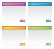 Web elements Stock Images