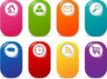Web elements Stock Image