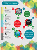 Web elements. Infographics  and web elements. EPS10 vector illustration Royalty Free Stock Photography