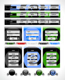 Web elements pack Royalty Free Stock Photo