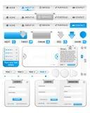 Web-Elementschablone 2 Lizenzfreies Stockbild