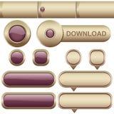 Web elemets | Reeks 2 stock illustratie