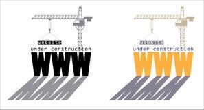 Web en construction Image libre de droits