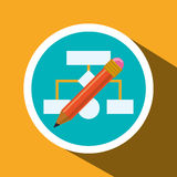 Web-Entwickler-Design Stockfoto