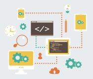 Web-Entwicklung vektor abbildung