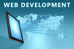 Web-Entwicklung stockfotografie
