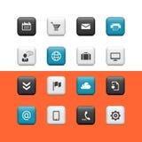 Web et boutons blogging illustration libre de droits