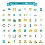 Web et icônes mobiles illustration de vecteur