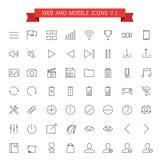Web et icônes mobiles illustration libre de droits