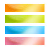 Web-Fahnen Stockbild