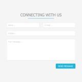 Web feedback form Stock Photos