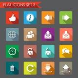 Web flat icons Stock Photo