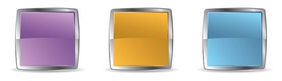 Web frames Royalty Free Stock Photos