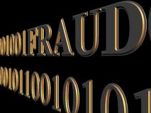 Web fraud Royalty Free Stock Photography