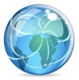 Web global Imágenes de archivo libres de regalías