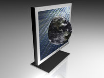 Web - Global - 3D Royalty Free Stock Image