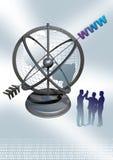 Web Globe New Royalty Free Stock Image