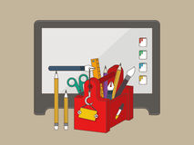 Web, graphic design tools Stock Images