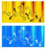 Web head banners Royalty Free Stock Photos