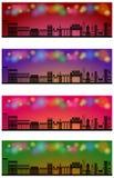 Web header banner city skyline  Stock Photos